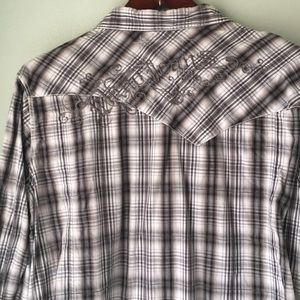 DKNY JEANS casual button down